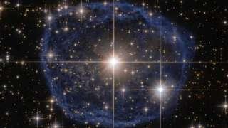 «Хаббл» сфотографировал редкую звезду «WR 31a» класса «Вольфа-Райе»