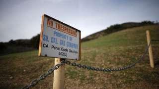 На территории США зарегистрирована крупнейшая в истории утечка природного газа