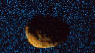 Зонд «MAVEN» получил первые фото Фобоса в ультрафиолете