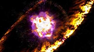 Взрыв сверхновой зафиксировали специалисты NASA