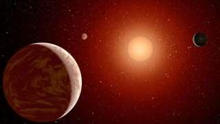 Три пригодные для жизни планеты открыты рядом с Землёй