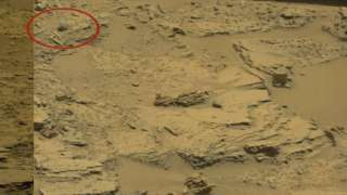 На Марсе обнаружен череп йети