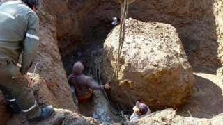 Гигантский метеорит отыскали в Южной Америке