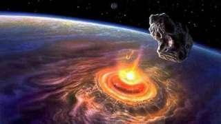 Астероид истребил популяции животных и растений