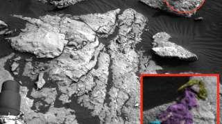 Марсоход передал изображение женщины