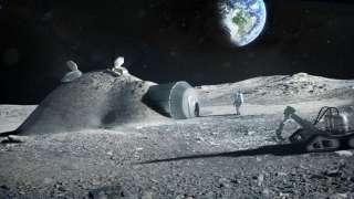 Колонизация Луны при помощи 3D принтера