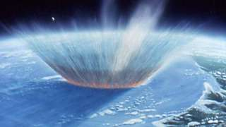 Что будет при падении астероида в океан