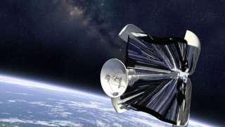 Российские ученые создают уникальный парусный спутник