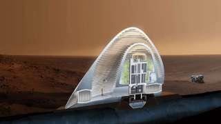 Марсианские колонизаторы будут жить в надувных домах изо льда