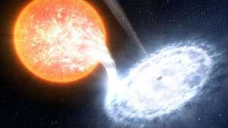Раскрыта особенность черной дыры в центре Млечного пути