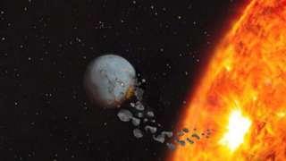 Двойник Солнца поглощает планеты