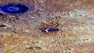 На меркурии найдены рукотворные голубые объекты