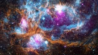 """NASA опубликовал """"космический зимний пейзаж"""""""