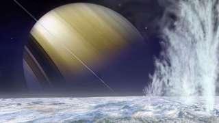 Есть ли внеземная жизнь на спутниках Сатурна?