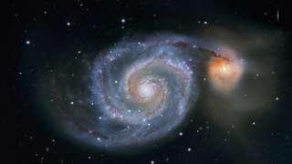 Млечный путь похищает звезды