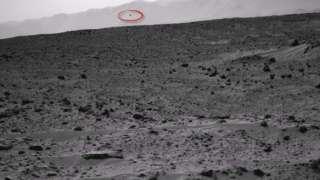 Уфолог обнаружил НЛО на Марсе