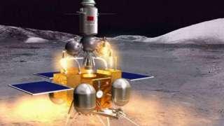 Китайская космическая станция доставит на Землю образцы лунных пород