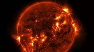 Возникновение мощной бури на Солнце приведет к экономической катастрофе