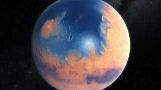 Ученые пролили свет на причины появления воды на Марсе в древности