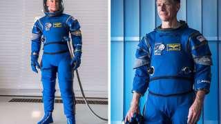 Для космонавтов разработана новая модель скафандра