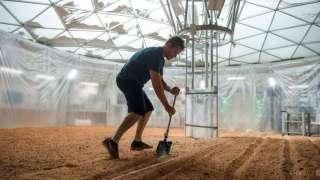 На Марсе будут выращивать урожай, удобряя человеческими экскрементами