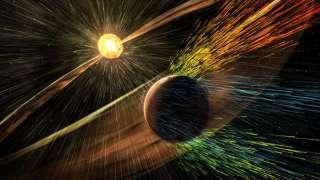 Солнечный ветер украл из атмосферы нашей планеты более ста тонн кислорода