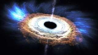 Ученым удалось обнаружить черную дыру, которая способствует рождению звезд