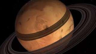 Фобос и Деймос окольцуют Марс