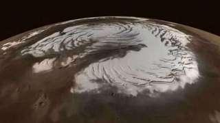 Ученые выяснили причину образования марсианского снега