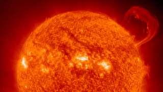 Сегодня началась магнитная буря, обусловленная корональной дырой на Солнце