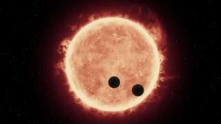 Звезда системы TRAPPIST-1 выбрасывает на планеты высокоэнергетические вспышки