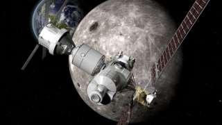 Компания Boeing показала космические корабли для освоения Луны и Марса