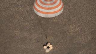 Пятидесятая команда МКС вернулась на Землю