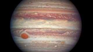 На Юпитере обнаружили большое холодное пятно