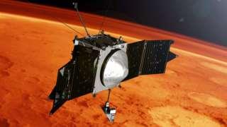 Зонд Maven обнаружил на Марсе ионы металлов
