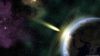Британские ученые смоделировали ситуацию при падении астероидов на Землю