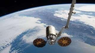 К МКС пристыковался космический корабль Cygnus
