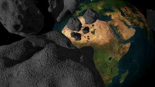 24 апреля недалеко от Земли пролели 5 астероидов