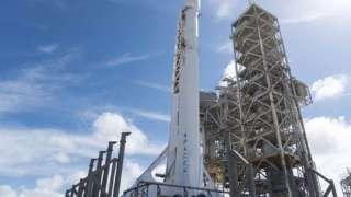 Полет ракеты Falcon 9 было решено отменить за 52 секунды до старта