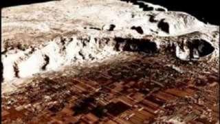 На Красной планете найдены следы разрушенного города