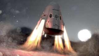 Компания SpaceX в 2020 году запустит на Марс два космических корабля
