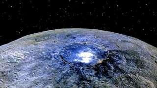 Астрономы НАСА смогли сделать снимки Цереры в лучах Солнца