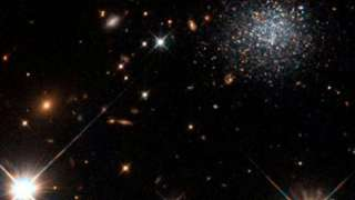 Международная группа ученых обнаружила реликтовое пятно, образовавшееся в результате столкновения вселенных