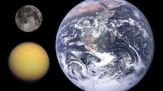 По мнению ученых, Титан больше похож на Марс, чем на Землю