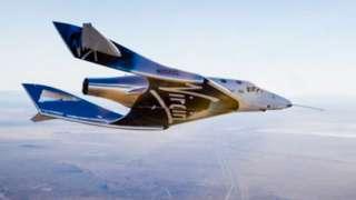 Суборбитальный корабль SpaceShipTwo осуществил первый тестовый полет