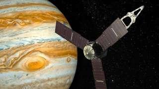На Юпитере были обнаружены осадки в виде аммиака