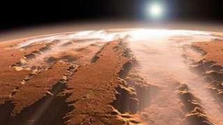 По мнению ученых, раньше на Марсе был крупный океан