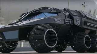 NASA презентовала марсианский внедорожник