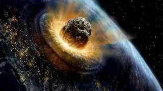 К нам летит громадный астероид