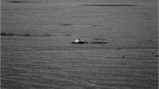 На Марсе обнаружен корабль пришельцев
